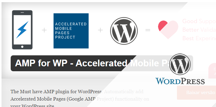Accelerated Mobile Pages (AMP) no Wordpress