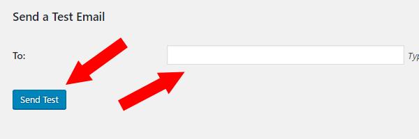 SMTP autenticado no WordPress testando