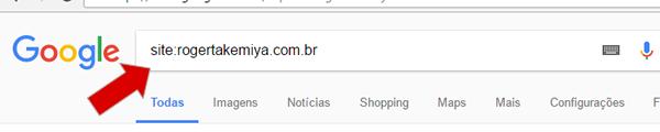 site não aparece no google