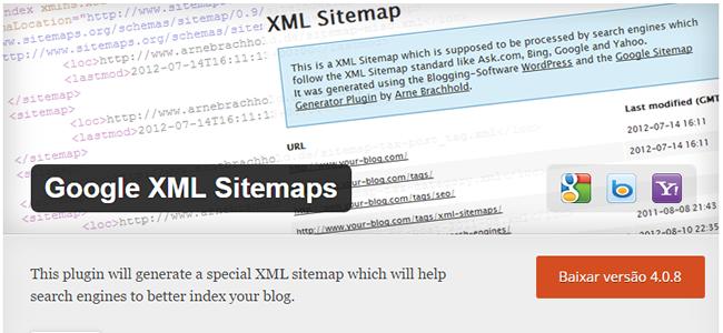 gogle xml sitemaps