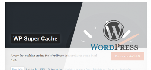 WP Super Cache, speed up your site with this plugin