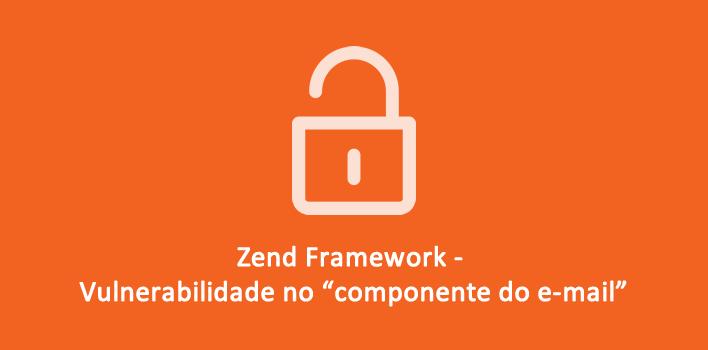 Vulnerabilidade no Zend Framework componente de e-mail