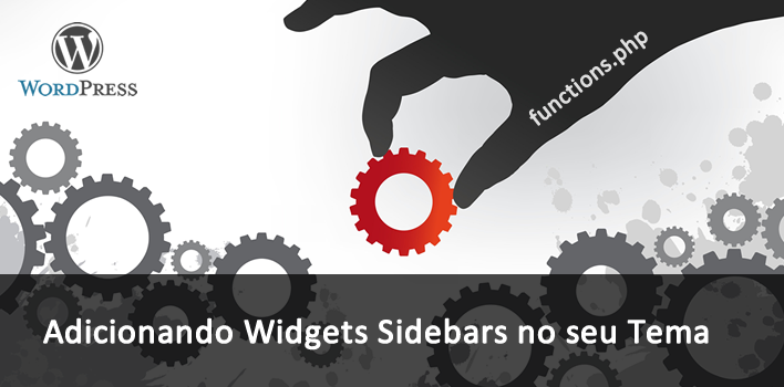 como adicionar um sidebar widgets no wordpress