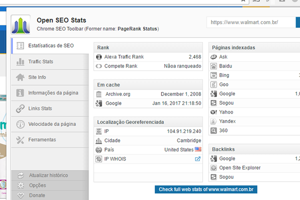 print screen open seo stats