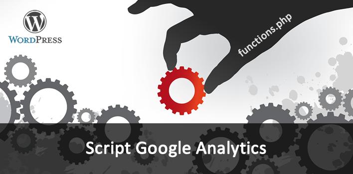 como adicionar o script do Google Analytics no WordPress