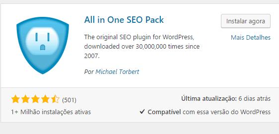 plugin All in One SEO Pack