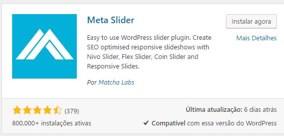plugin Meta Slider