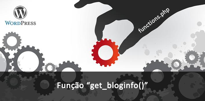 utilizando a função get_bloginfo