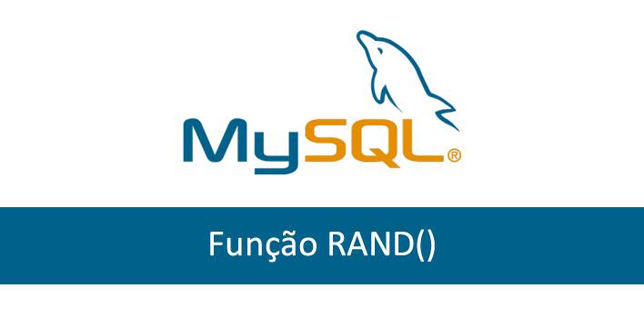 função rand() no mysql
