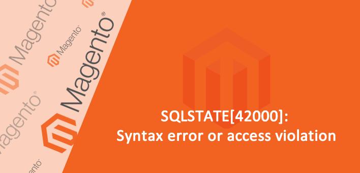 Erro de sintaxe no Mysql ao salvar um produto no Magento