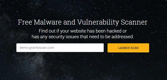 Procure por malwares e vulnerabilidades em seu site gratuitamente