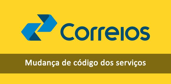 Código de serviço invalido - Erro no Webservice Correios