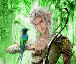 ilustração de um elf