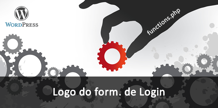 como alterar o logo do formulário de login