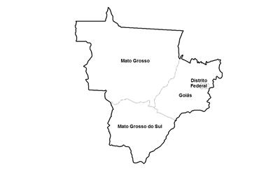 ceps da região centro-oeste