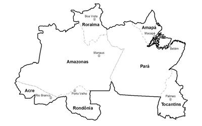 ceps da região norte