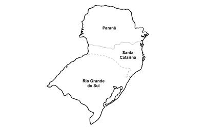ceps da região sul