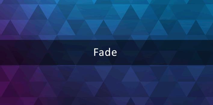efeito fade no background utilizando CSS