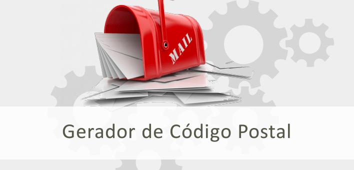 Gerador de CEP, Código postal, CEP com rua, bairro, cidade e estado
