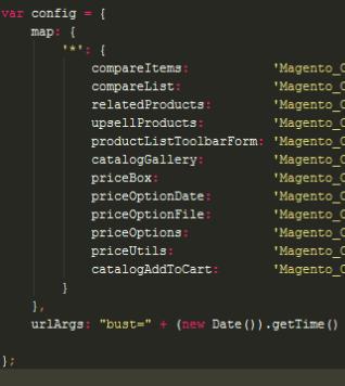 requirejs cache desabilitado