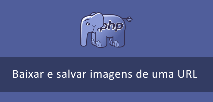 Baixar e salvar imagens de uma URL com PHP
