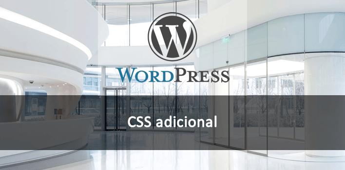 CSS adicional em um tema WordPress