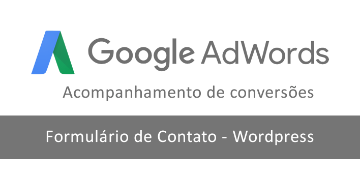 Script de conversão do AdWords no formulário de contato do WordPress