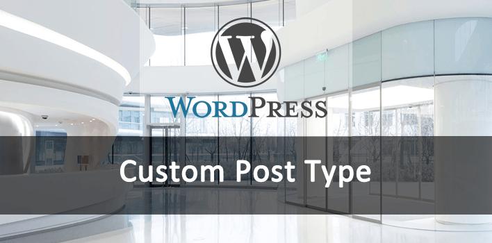 tipo personalizado de post com a função register_post_type