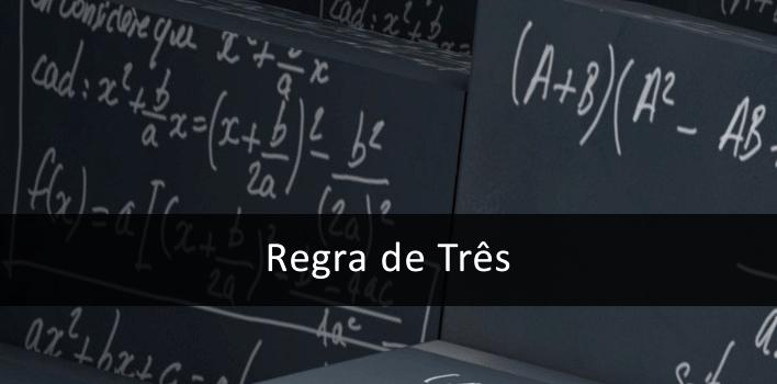 resolvendo a regra de 3 de forma simples, calculadora online