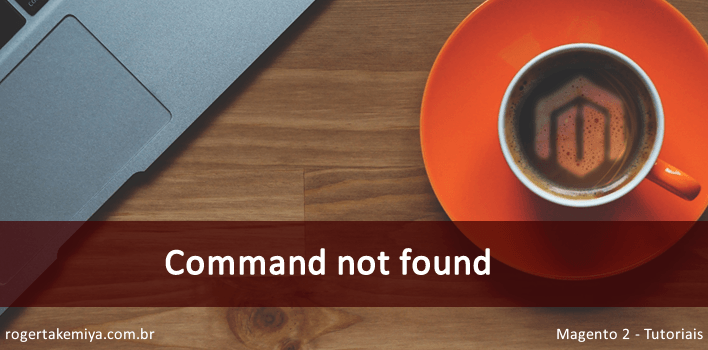 command not found Magento 2