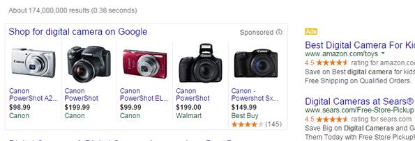 google shopping e anúncios textos