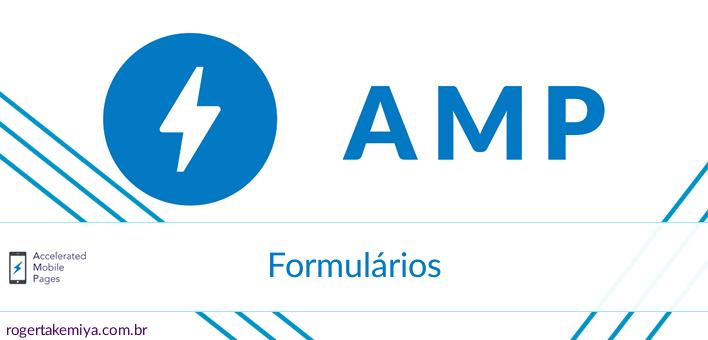 Criando formulários em uma página AMP