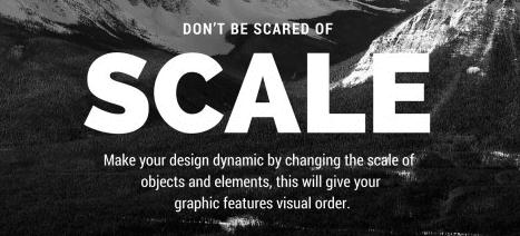 Não tenha medo da escala