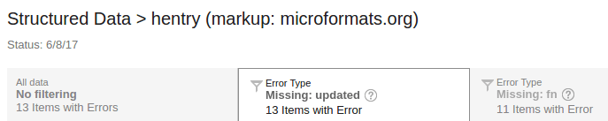 example of error