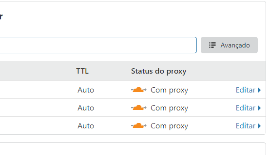 Proxy Cloudflare